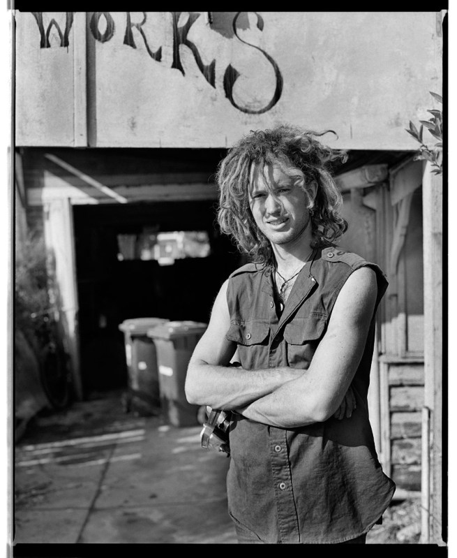 Marcus Bunyan. 'Jerry, Bent Metal, Punt Road, South Yarra' 1991/2