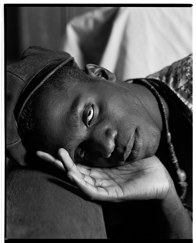 Marcus Bunyan. 'Lawrence sleeping' 1991/2