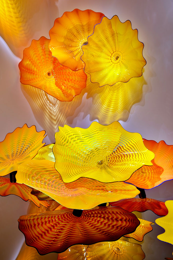 Dale chihuly persian ceiling art blart