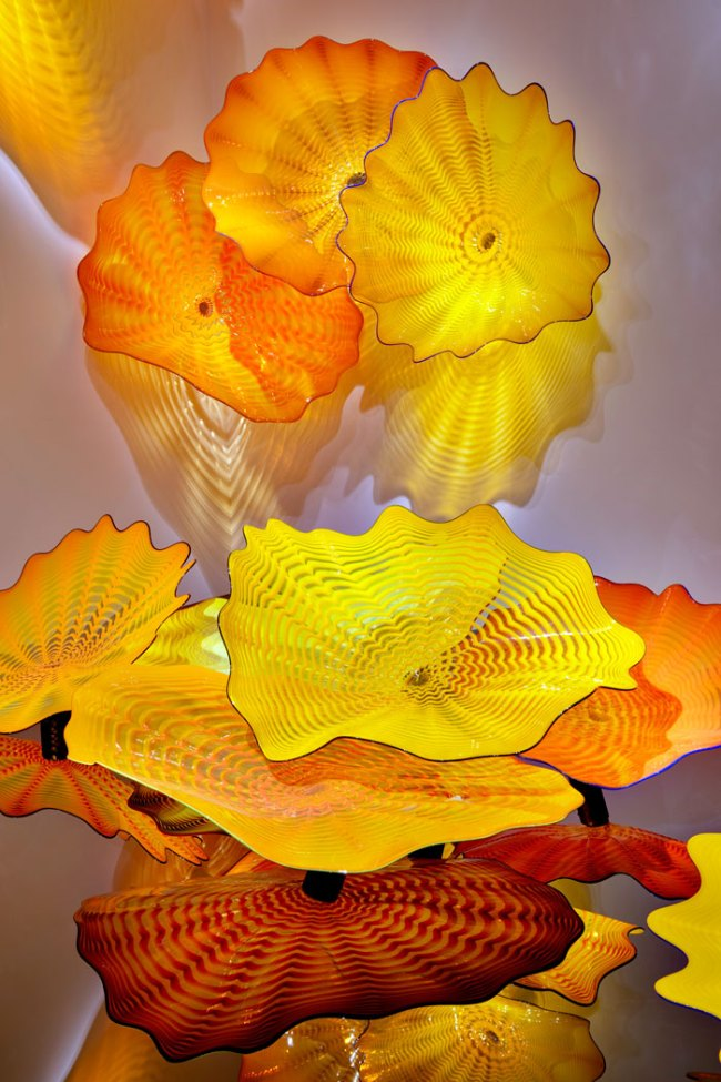 Dale Chihuly (American, born 1941) 'Persian Wall' 2011