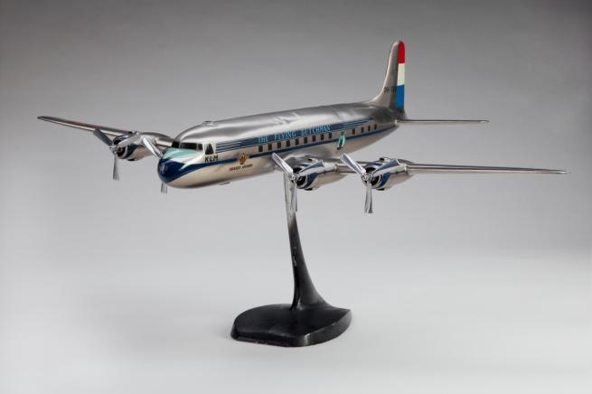 Maarten Matthys Verkuyl (Dutch). 'KLM (Koninklijke Luchtvaart Maatschappij) Royal Dutch Airlines Douglas DC-6' c. 1950