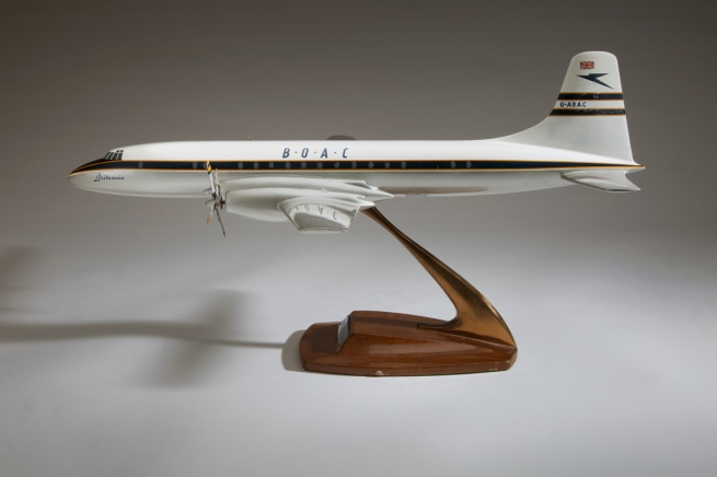 Westway Models, London, England. 'BOAC Bristol Britannia 300' late 1950s