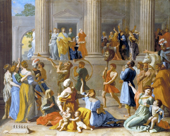 Nicolas Poussin. 'The Triumph of David' 1628-1631