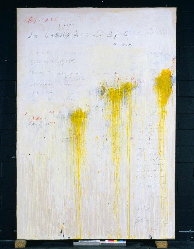 Cy Twombly. 'Quattro Stagioni: Estate' 1993-5
