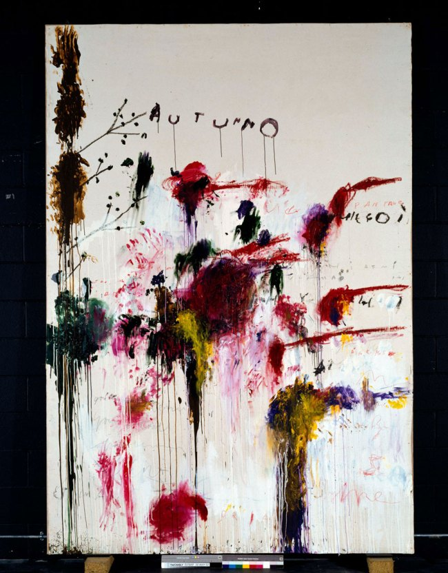 Cy Twombly. 'Quattro Stagioni: Autunno' 1993-5