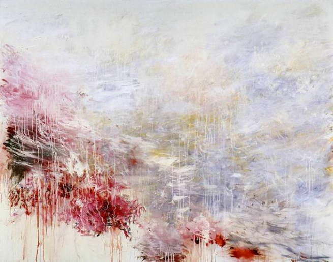 Cy Twombly. 'Hero and Leandro' 1985
