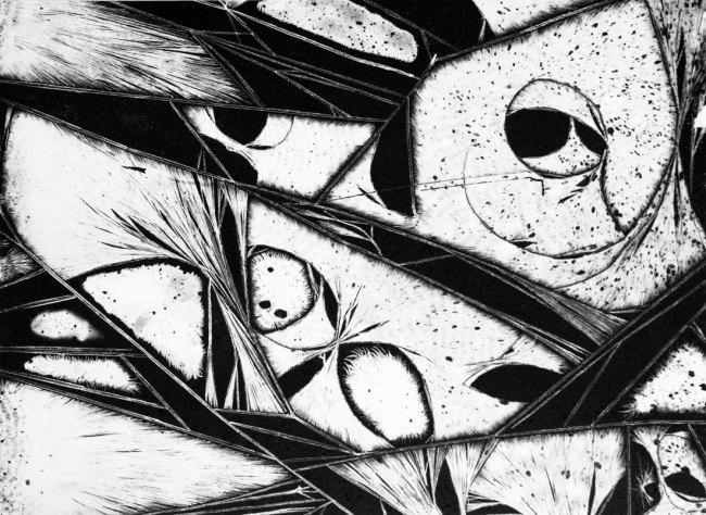 Virna Haffer. 'Abstract #2' c. 1960s