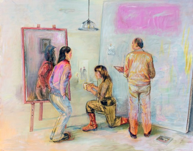 Juan Davila. 'The Painter's Studio' 2006