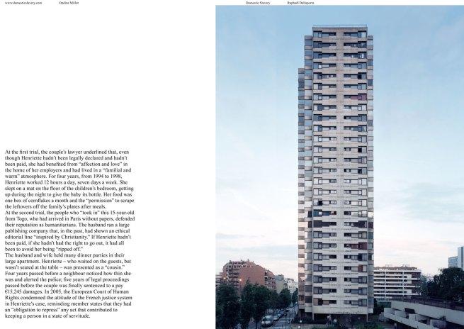 Raphaël Dallaporta 'Domestic Slavery, Henriette' 2006