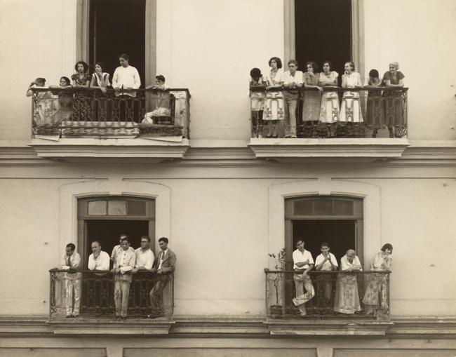 Walker Evans (American, 1903-1975) 'Balcony Spectators' 1933