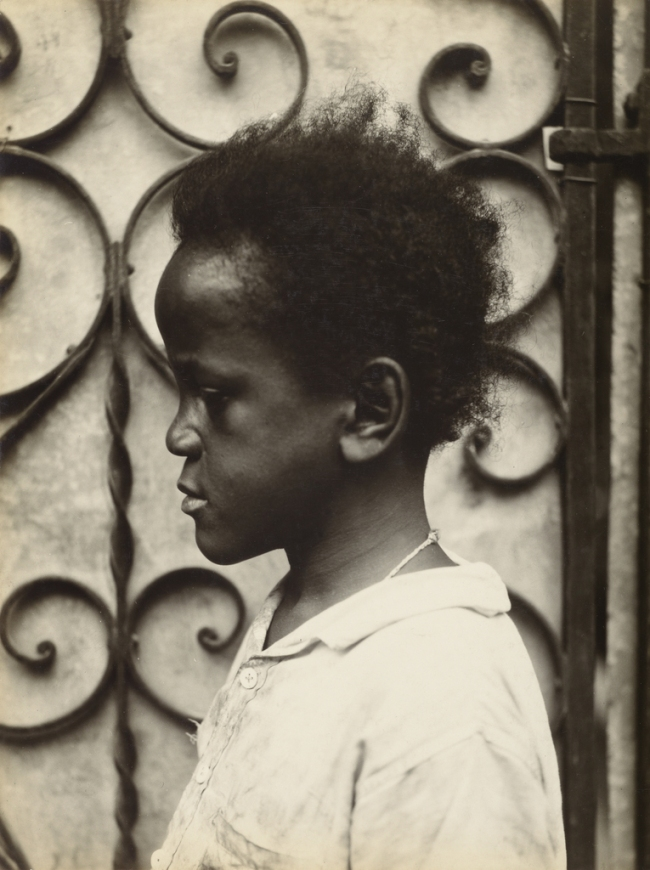 Walker Evans (American, 1903-1975) 'Negro Child, Havana' 1933