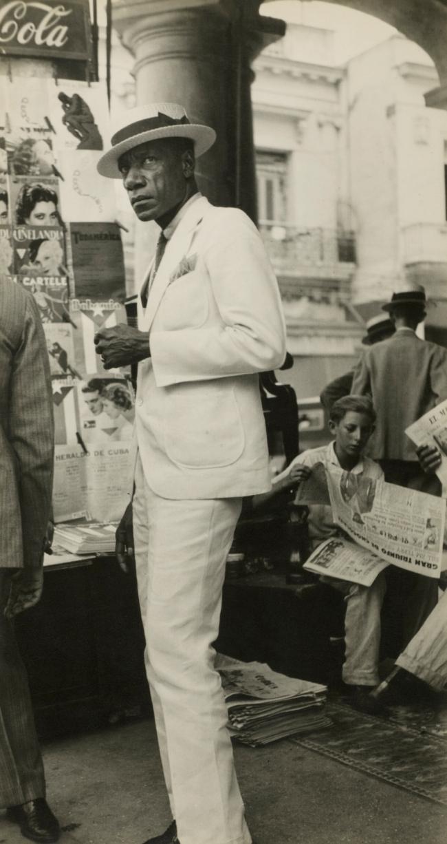 Walker Evans (American, 1903-1975) 'Citizen in Downtown Havana' 1933