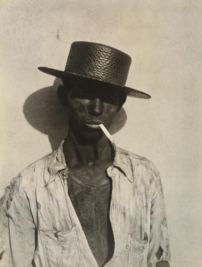 Walker Evans (American, 1903-1975) 'Coal Stevedore, Havana' 1933
