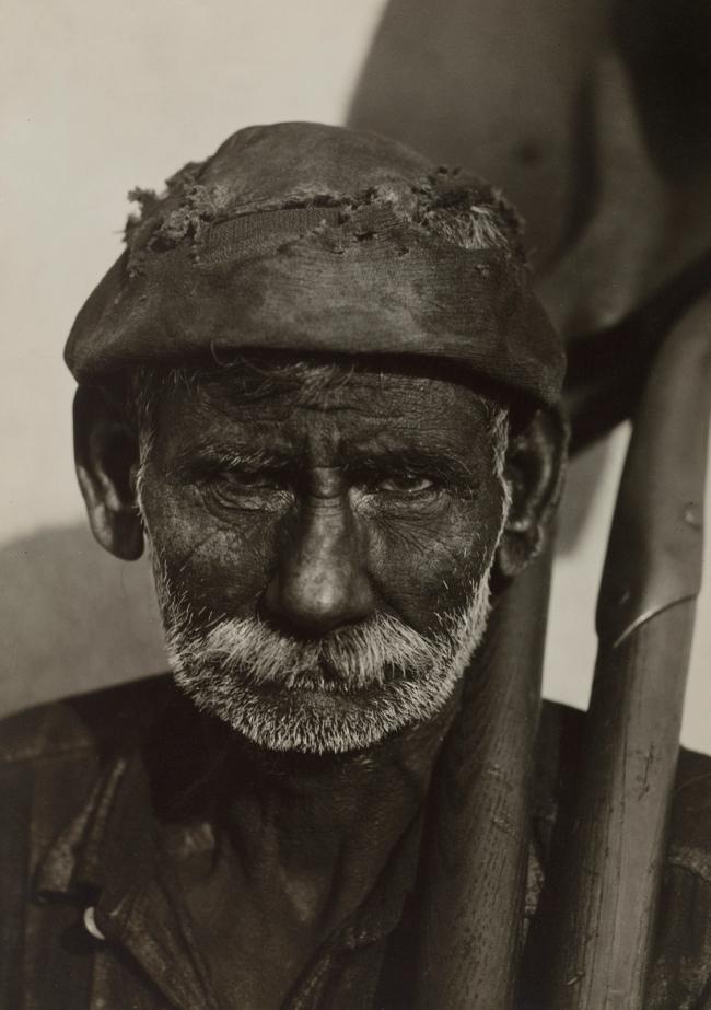 Walker Evans (American, 1903-1975) 'Coal Loader, Havana' 1933