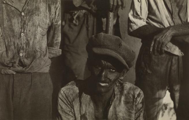 Walker Evans (American, 1903-1975) 'Coal Dockworker, Havana' 1933
