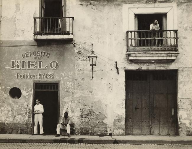 Walker Evans (American, 1903-1975) 'Old Havana Housefronts' 1933