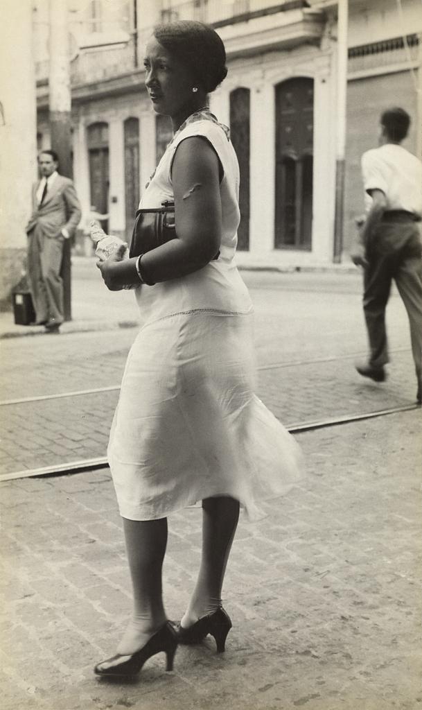 Walker Evans (American, 1903-1975) 'Woman on the Street, Havana' 1933