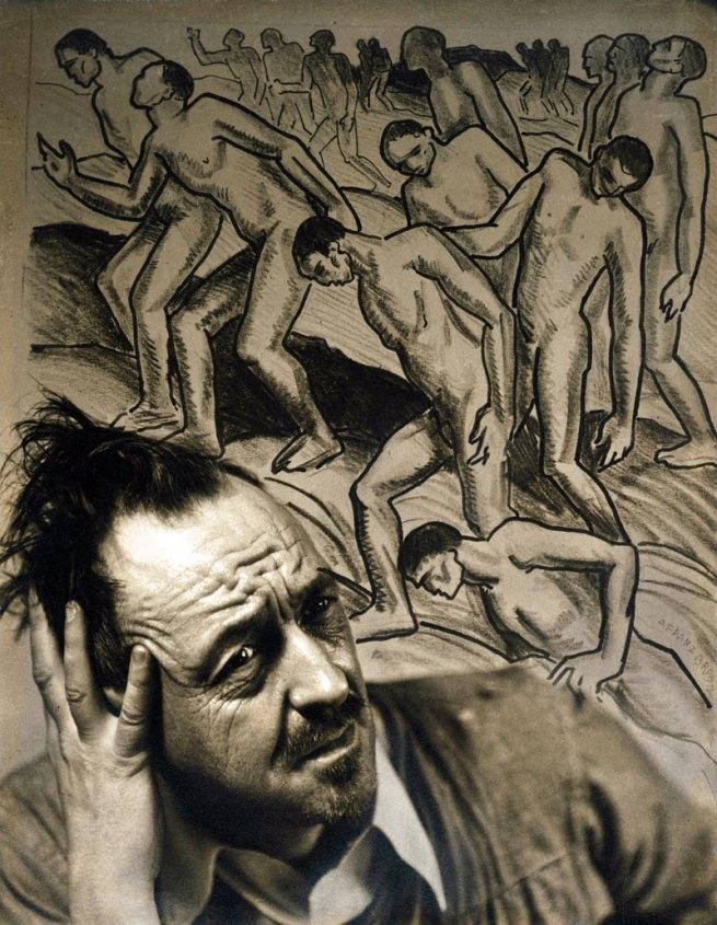 Virna Haffer. 'Franz Brasz, The Artist' c. 1937