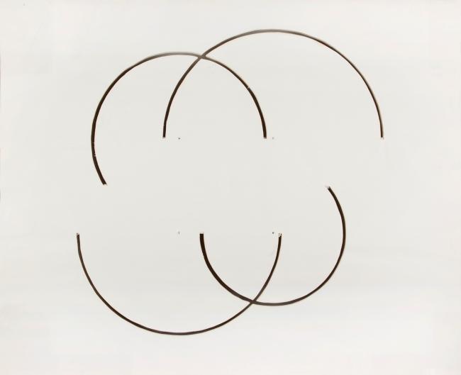 Gordon Matta-Clark. 'Untitled (cut drawing)' 1974