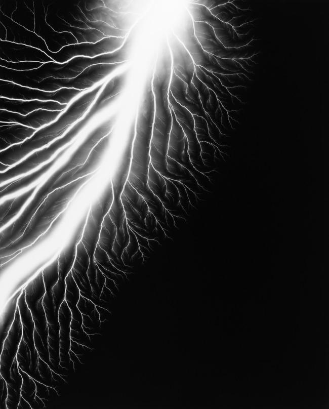 Hiroshi Sugimoto. 'Lightning Fields 226' 2009