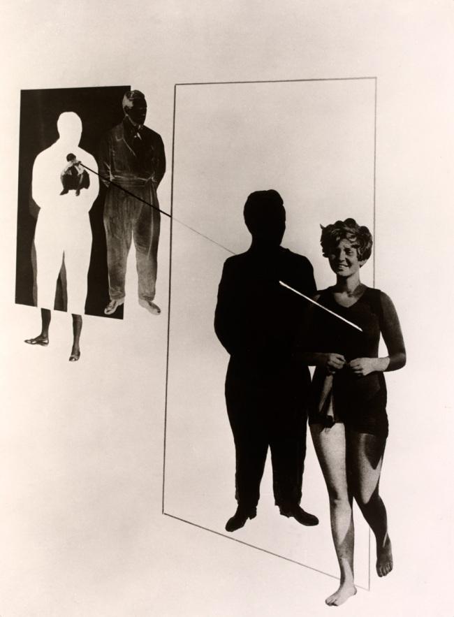 László Moholy-Nagy(Hungarian, 1895-1946) 'Jealousy' 1924-27