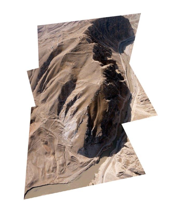 Raphaël Dallaporta. 'Ruins (Season 1), The Balkh-AB gorges, Afghanistan' 2011