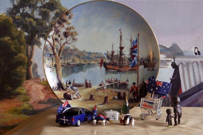 Elaine Campaner. 'Australia Day #1 (Ford Falcon XR8)' 2011