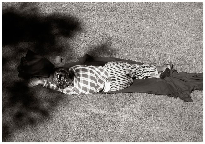 Cherine Fahd. 'Untitled' from the series 'The Sleepers' 2005-2008