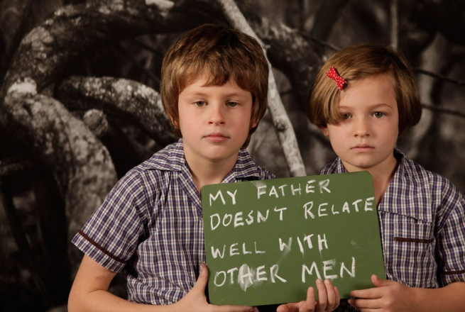 Martin Smith. 'My Father Doesn't Relate Well With Other Men' 2011
