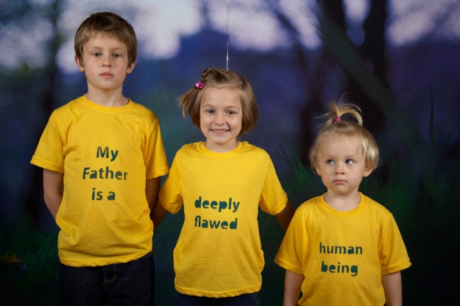 Martin Smith. 'My Father is a Deeply Flawed Human Being' 2011