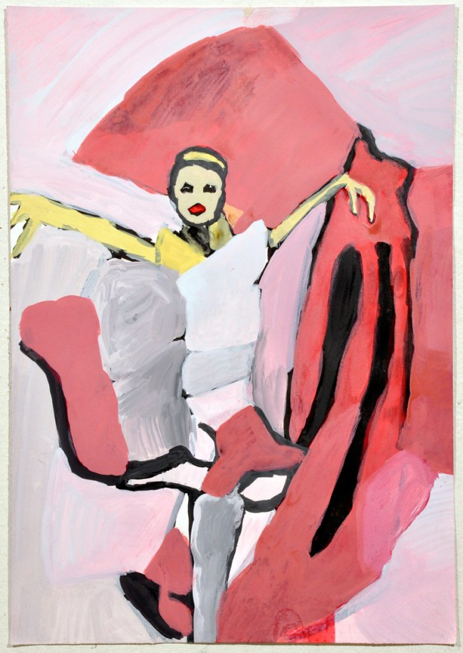 Paul Hodges. 'Not titled (Pink Dancer)' 2010