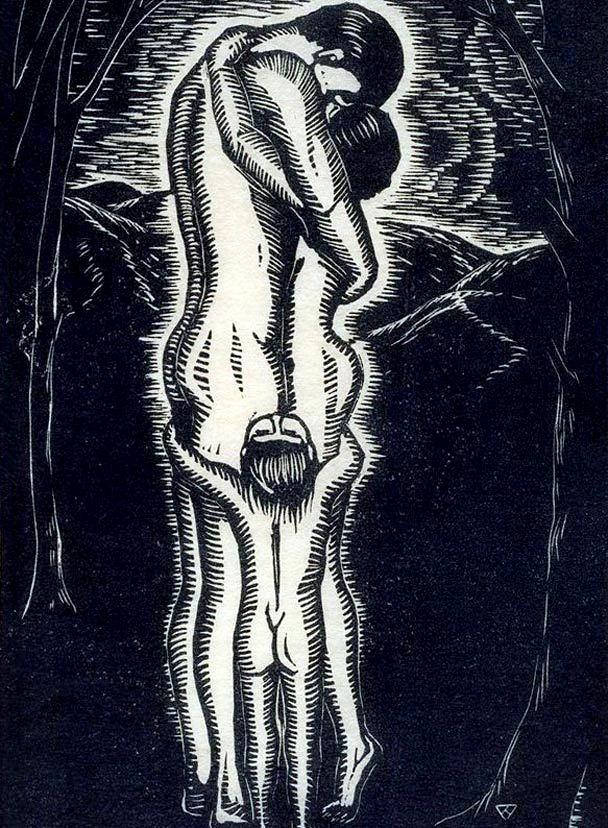 Virna Haffer (American, 1899-1974) 'The Family' 1929