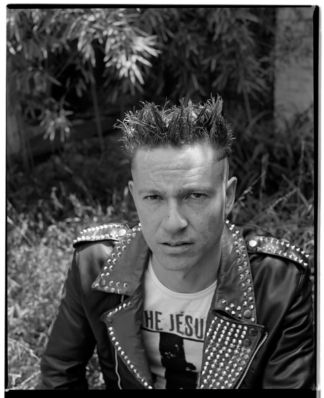 Marcus Bunyan. 'Self-portrait in Punk Jacket' 1991-92