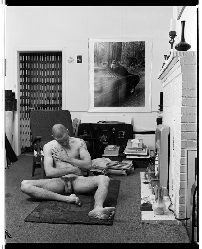 Marcus Bunyan. 'Nude, in the Flat, Rear of Derelict House, 455, Punt Road, South Yarra' 1992