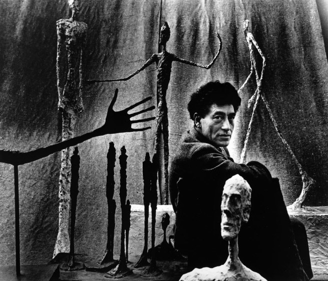 Gordon Parks. 'Alberto Giacometti, Paris' 1951
