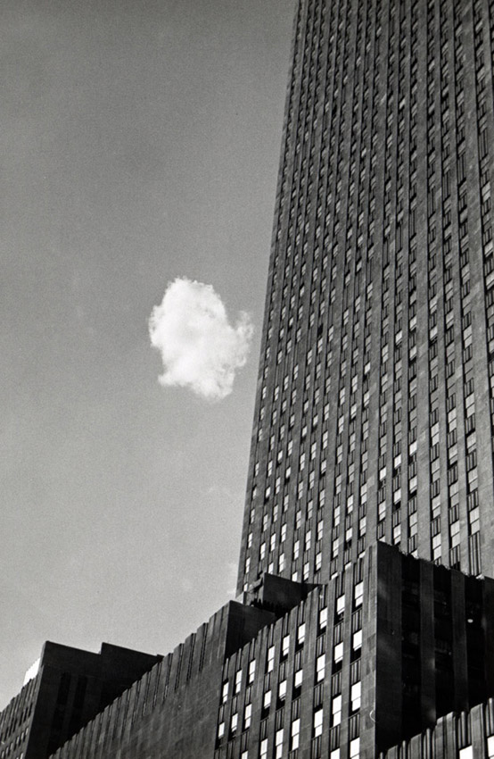 André Kertész. 'The Lost Cloud, New York' negative 1937; print 1970s