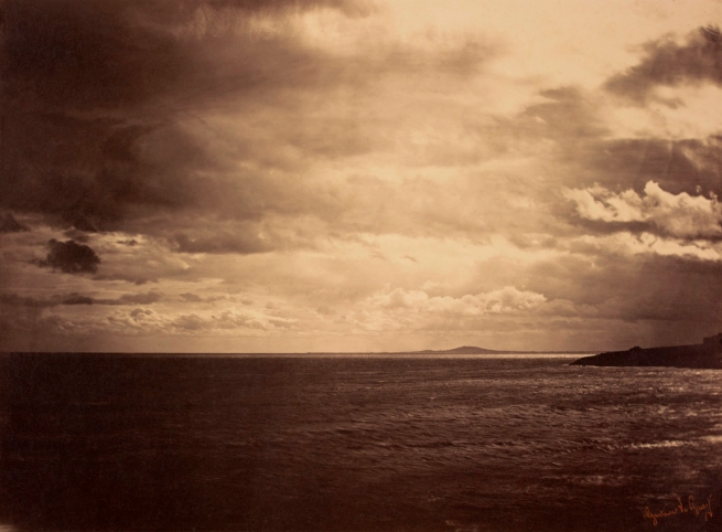 Gustave Le Gray (French, 1820-1884) 'Cloudy Sky – Mediterranean Sea' 1857