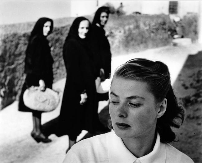 Gordon Parks. 'Ingrid Bergman at Stromboli' 1949