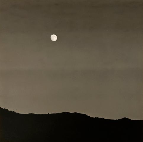 Dorothea Lange. 'Full Moon, Southwestern Utah' 1953