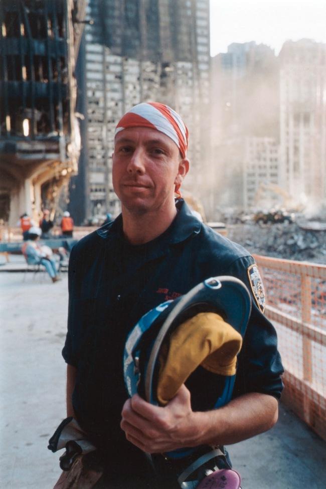 Joel Meyerowitz. 'Explosion Squad Detective' 2001