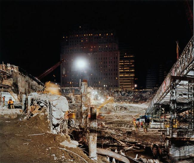 Joel Meyerowitz. 'Pit Looking North' 2002