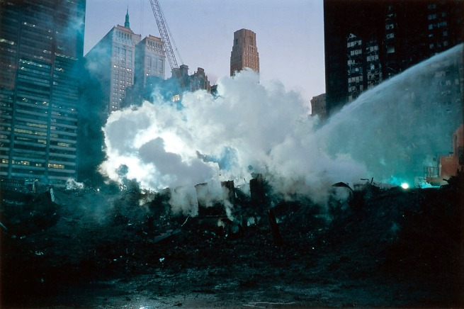Joel Meyerowitz. 'Smoke and Spray' 2001