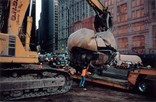 Joel Meyerowitz. 'Moving the Monument' 2001