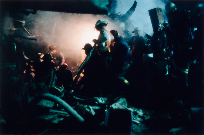 Joel Meyerowitz. 'Finding More Fireman' 2001