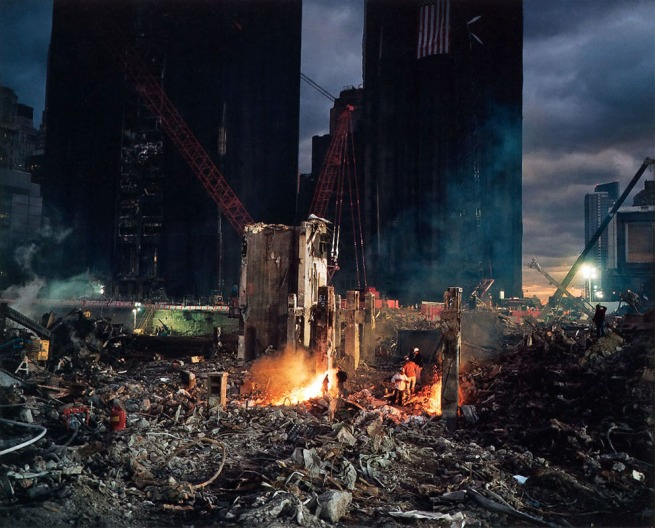 Joel Meyerowitz. 'Welders in South Tower' 2001