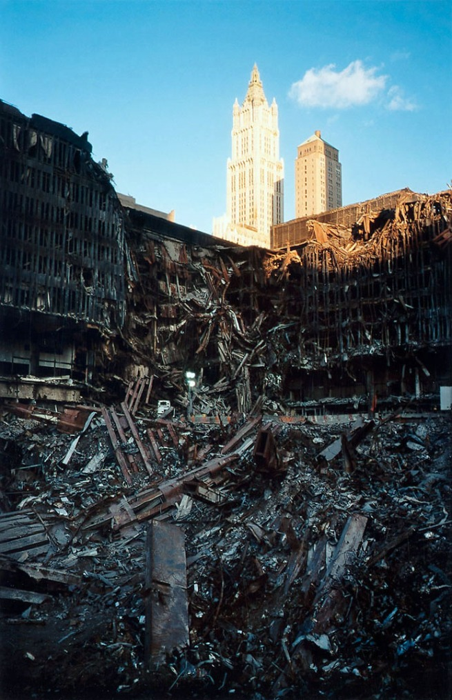 Joel Meyerowitz. 'Building #5 and Woolworth' 2001