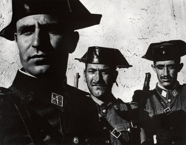 W. Eugene Smith. 'Guardia Civil, Spain' 1950