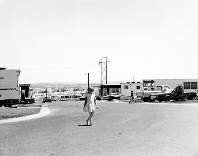 Robert Adams. 'Mobile home park, north edge of Denver, Colorado' 1973-1974