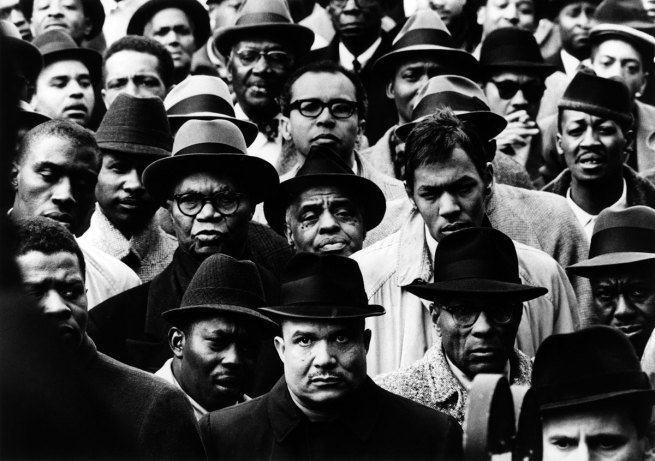 Gordon Parks. 'Black Muslim Rally' New York, 1963