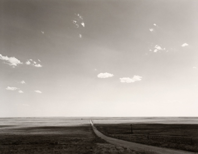 Robert Adams. 'North of Keota, Colorado' 1973